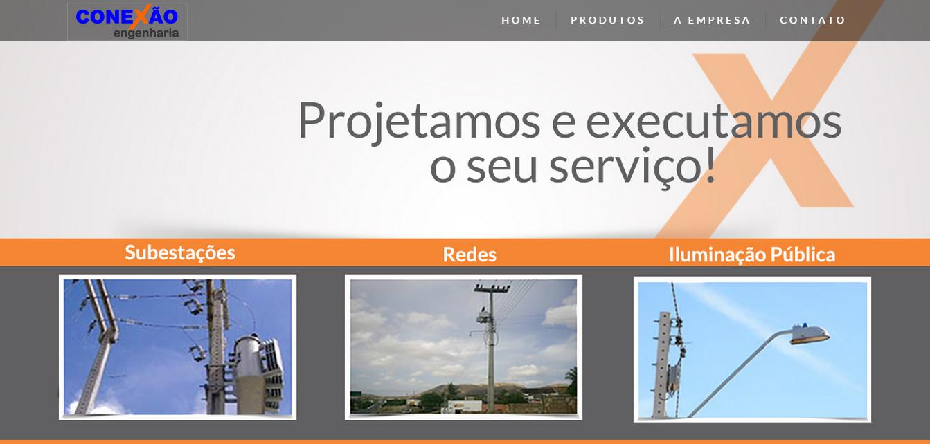 Novo Site Conexão Engenharia
