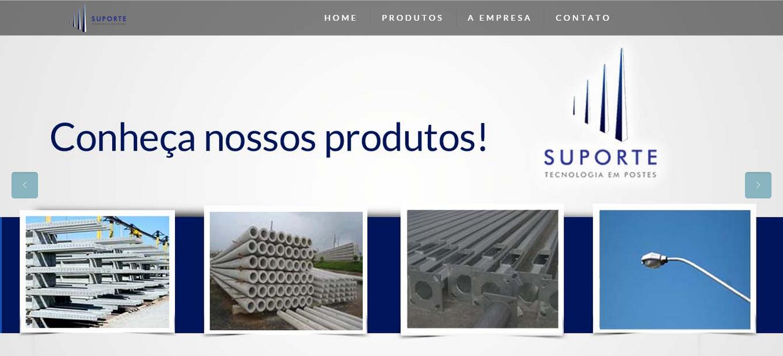 Novo Site Suporte Engenharia